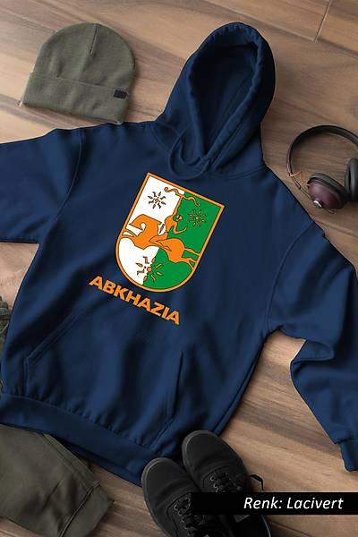Abkhazia Unisex Kapüþonlu Sweatshirt