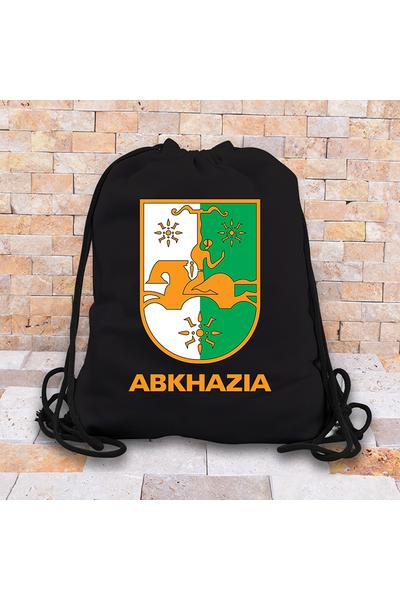 Abkhazi Baskýlý Abhazya Sýrt Çantasý
