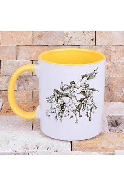 Sürgün Renkli Kahve Kupalarý