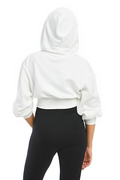Kapüþonlu Sweatshýrt Beyaz