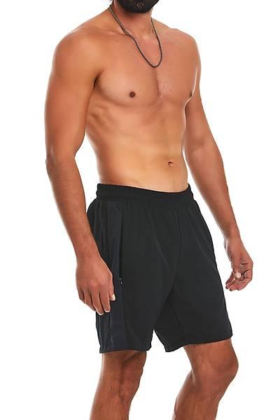 Erkek Siyahv Spor Fitness Þort
