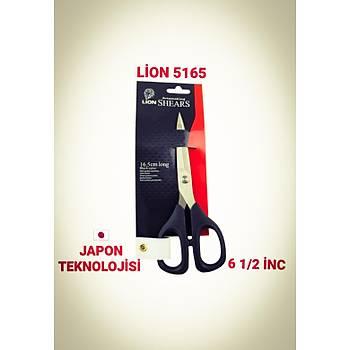 Lion Plastik Saplý Nakýþ Ýplik Temizleme  Makasý 5165 - 16.5 cm