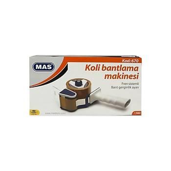 Mas 670 Koli Bantlama Makinasý Standart Boy 50 mm