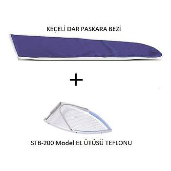 BLUESTAR Isýya Dayanýklý Keçeli Dar Paskara Bezi ve EL Ütüsü Teflonu STB-200