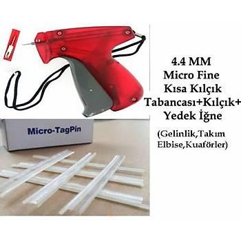 4.4 MM Micro Fine Kýsa Seffaf Kýlçýk ve Etiket Takma Tabancasý (Kuaför-Takým Elbise-Gelinlikçiler)