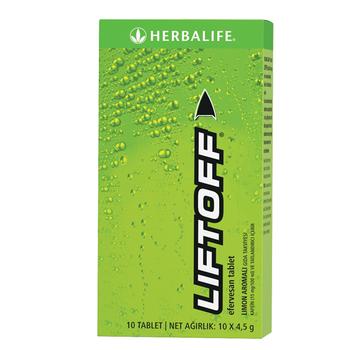 Herbalife Liftoff® Efervesan Ýçecek - Limon Aromalý
