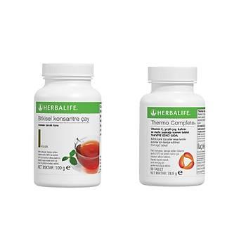Herbalife Thermo Complete ve Bitkisel Konsantre Çay 100gr