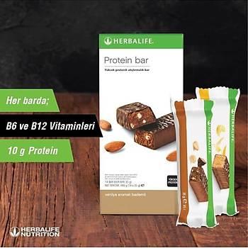 Herbalife Protein Bar - Vanilya Aromalý Bademli