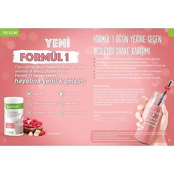 Herbalife Formül 1 Shake Ahududu ve Beyaz Çikolata Aromalý