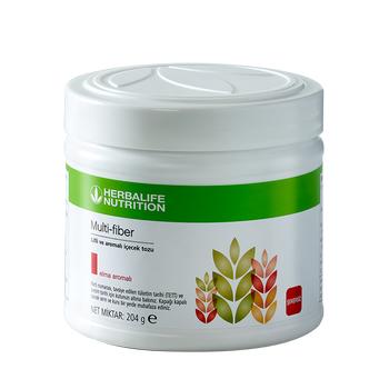 Herbalife Multi-Fiber Lifli ve Aromalý Ýçecek Tozu Elma 204 g