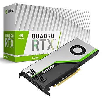 PNY QUADRO RTX 4000 8GB GDDR6 DP 256Bit VCQRTX4000-PB