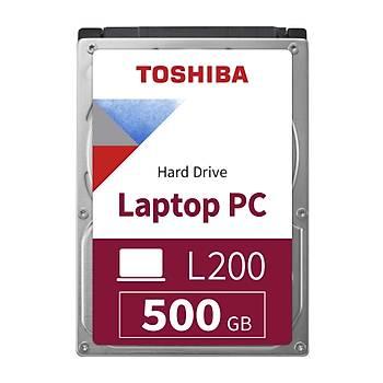 """500GB TOSHIBA 2.5"""" L200 5400RPM 8MB HDWK105UZSVA"""
