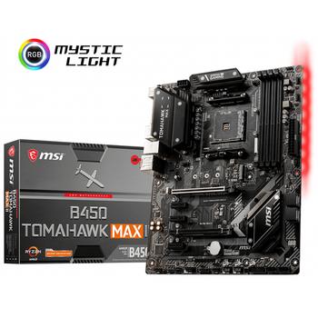 MSI B450 TOMAHAWK MAX II DDR4 3466Mhz(OC) HDMI M.2 ATX RGB AM4