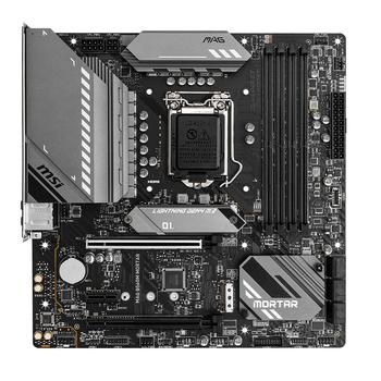 MSI MAG B560M MORTAR DDR4 5066(OC)Mhz HDMI DP M.2 mATX 1200p