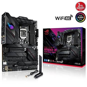 ASUS ROG STRIX B560-E GAMING WIFI 5333MHz(OC) HDMI DP M.2 ATX 1200p