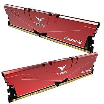 16 GB DDR4 3200 Mhz T-FORCE VULCAN Z RED 8GBx2 TEAM TLZRD416G3200HC16CDC01
