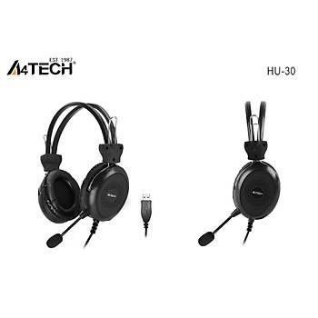 A4 TECH HU-30 MÝKROFONLU KULAKLIK USB