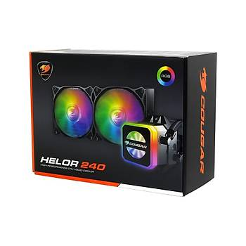 COUGAR HELOR 240 RGB SIVI SOÐUTMA RL-HLR240-V1