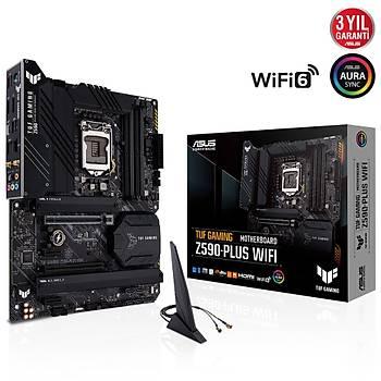 ASUS TUF GAMING Z590-PLUS DDR4 5133Mhz(OC) HDMI M.2 ATX 1200p