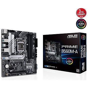 ASUS PRIME B560M-A  DDR4 5000(OC) ATX 1200P