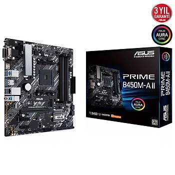 ASUS PRIME B450M-A II 4400 DDR4 DVI VGA M2 AM4