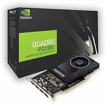 PNY QUADRO P2200 5GB GDDR5X DP 160Bit VCQP2200-PB
