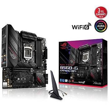 ASUS ROG STRIX B560-G GAMING WIFI 5000Mhz(OC) HDMI DP M.2 mATX 1200p