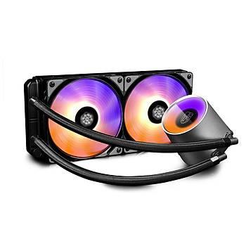 DEEP COOL CASTLE 240R RGB INTEL-AMD CPU SIVI SOÐUT
