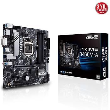 ASUS PRIME B460M-A DDR4 2933/2133Mhz mATX 1200p