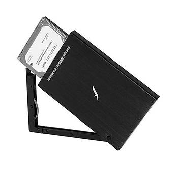 FRISBY FHC-2540B 2.5 SATA SÝYAH USB3.0 HDD KUTU
