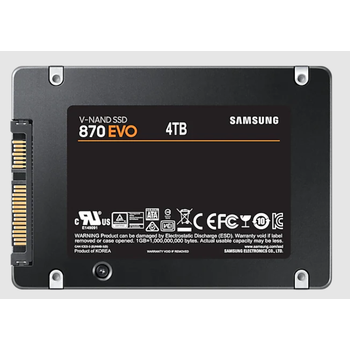 4TB SAMSUNG 870 EVO 560/530MB/s MZ-77E4T0BW SSD