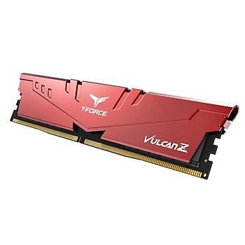 16 GB DDR4 3200 MHZ T-FORCE VULCAN Z RED 16GBX1 TLZRD416G3200HC16F01