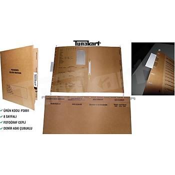 P3001 8 SAYFALI PERSONEL ÖZLÜK DOSYASI