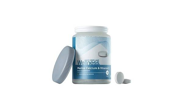 Marine Kalsiyum ve D Vitamini Ýçeren Takviye Edici Gýda - 30 Tablet