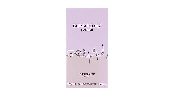 Oriflame Born To Fly For Her Edt 50 ml