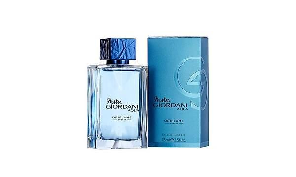 Oriflame Mister Giordani Aqua EdT 75 ml Erkek Parfümü