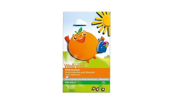 WellnessKids Multivitamin ve Mineral Takviye Edici Gýda - 21 Tablet