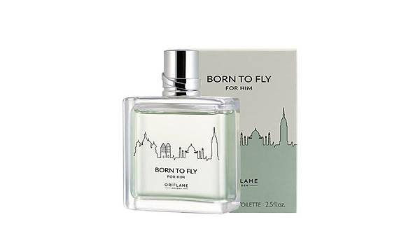 Oriflame Born To Fly For Him EDT 75 ml Erkek Parfümü