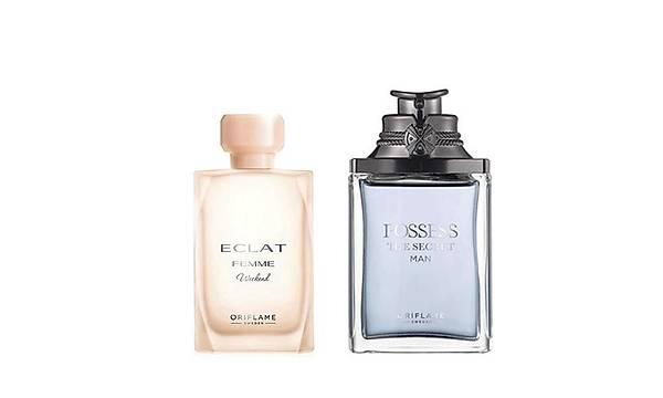 Oriflame Eclat Femme Weekend EDT + Possess the Secret Man EDP Parfüm Seti