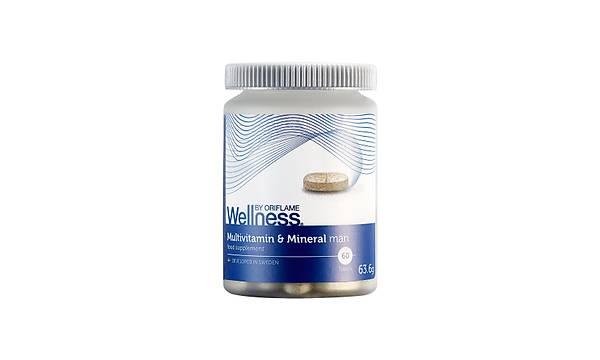 Erkek için Multivitamin ve Mineral Takviye Edici Gýda - 60 Tablet
