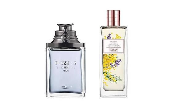 Oriflame Possess the secret EDP + Women's Collection Powder Mimosa EDT Parfüm Seti