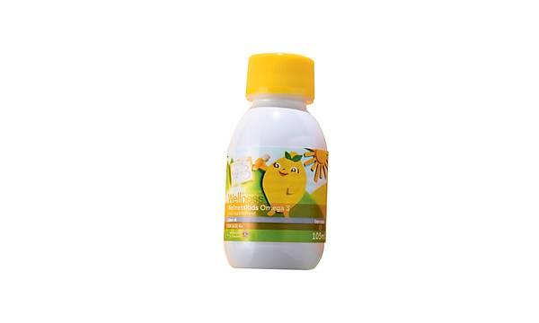 WellnessKids Omega 3 Balýk Yaðý Takviye Edici Gýda - 105 ml