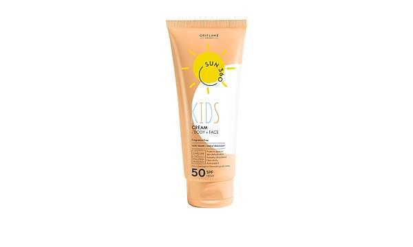 Sun 360 Çocuklar için Yüz ve Vücut Güneþ Kremi 50 SPF - 125 ml