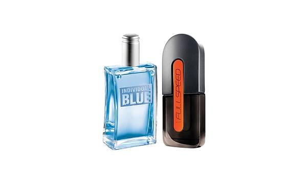 Avon Individual Blue ve Full Speed Erkek Parfüm Seti