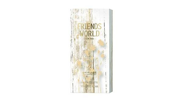 Oriflame Friends World for Her Edt 50 ml