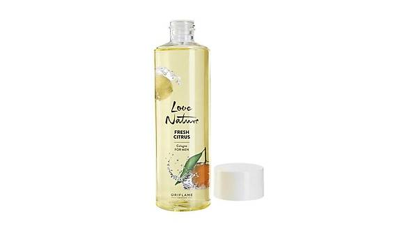 Oriflame Love Nature Çilek ve Misket Limonu Kolonyasý 400 ml