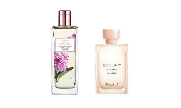 Oriflame Eclat Femme Weekend EDT + Women's Collection Radiant Peony EDT Kadýn Parfüm seti
