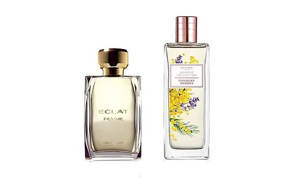 Oriflame Women's Collection Powder Mimosa EDT + Eclat Femme EDT Kadýn Parfüm Seti