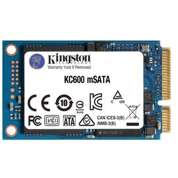 512GB KINGSTON KC600 550/520MB/s mSATA SSD SKC600MS/512G
