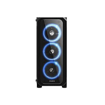 ZALMAN Z7 NEO ATX TEMPERED RGB LED MIDI TOWER KASA  (POWERSIZ)